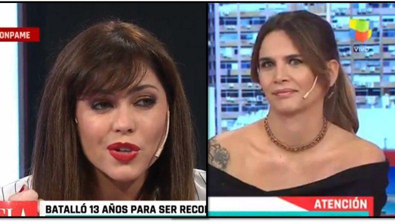 Amalia Granata se fue al panel de Pamela, la competencia de Maju, donde fue despedida