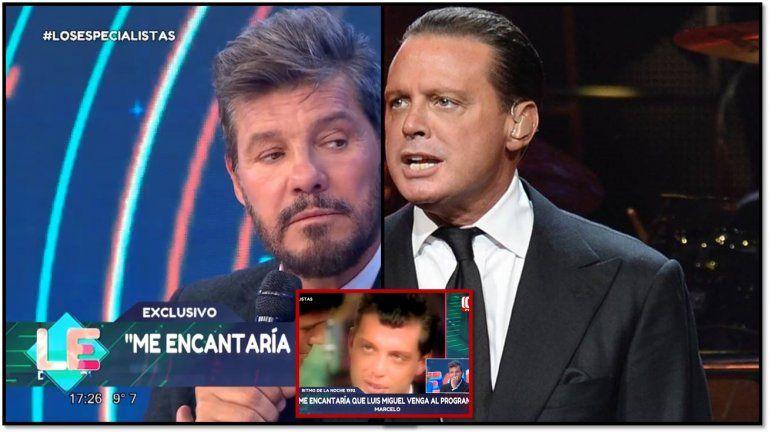 Tinelli contó detalles de la negociación para tener a Luis Miguel: No mandaron las condiciones y...