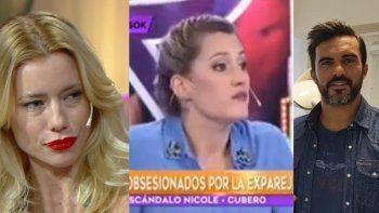 Mica Viciconte respondió a quienes la acusan de filtrar el audio de Nicole Neumann a Fabián Cubero