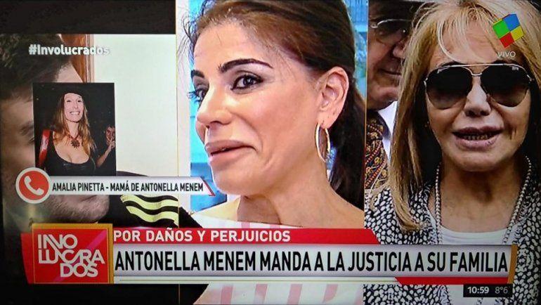 Otro escándalo en la familia Menem: la madre de Antonella inicia juicio contra Zulema, Zulemita y Carlitos