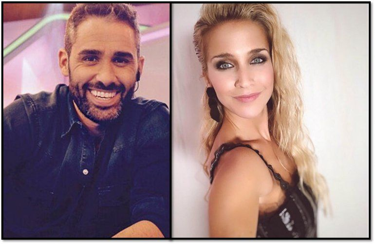 Soledad Fandiño y Pollo Álvarez, muy cerca en el back de las fotos del Bailando por un sueño