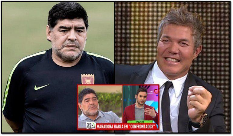Maradona y una tremenda frase contra Burlando: ¿Qué me va a decir?... si tomaba droga conmigo...