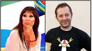 Nico Scarpino le respondió a Moria Casán: Tengo una vida personal y profesional impecable