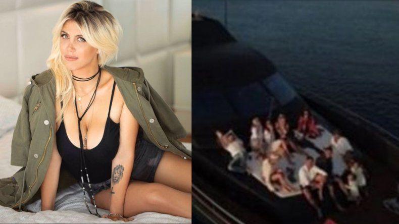 Wanda Nara respondió furiosa sobre los rumores de una fiesta en barco de Mauro Icardi con otras mujeres
