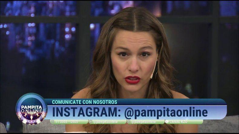 ¿Hasta cuándo se llamará Pampita online el ex ciclo de Pampita?