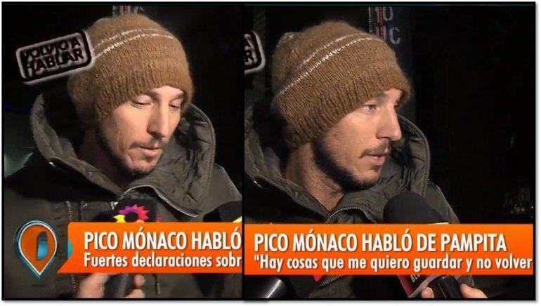 Pico Mónaco habló de su relación con Pampita: ¿Están separados?