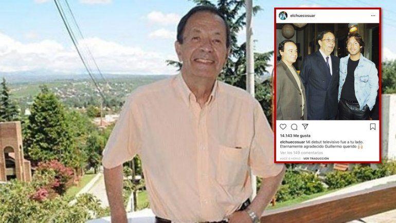 Suar y un emotivo mensaje por la muerte de Bredeston, el hombre con el que debutó en TV