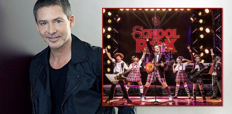 Adrián Suar compró la exitosa comedia musical School of rock para hacerla en 2019