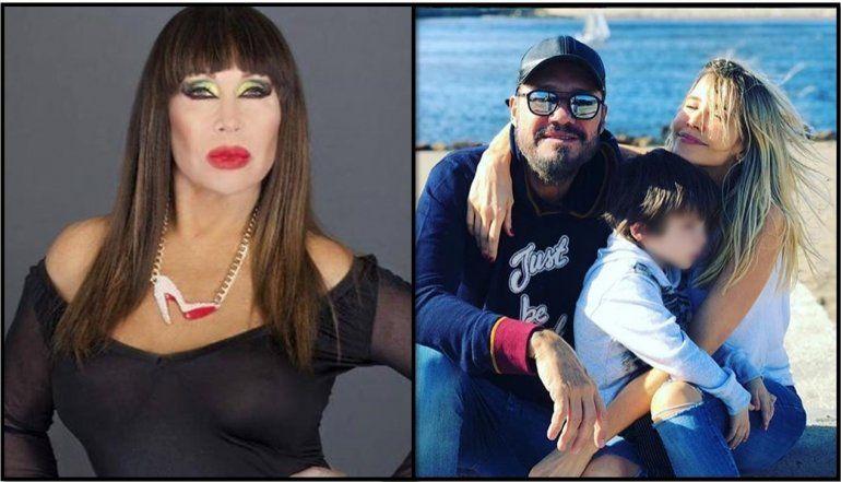La polémica siguió en Twitter: Moria aclaró por qué dijo que el hijo de Tinelli parece extraterrestre