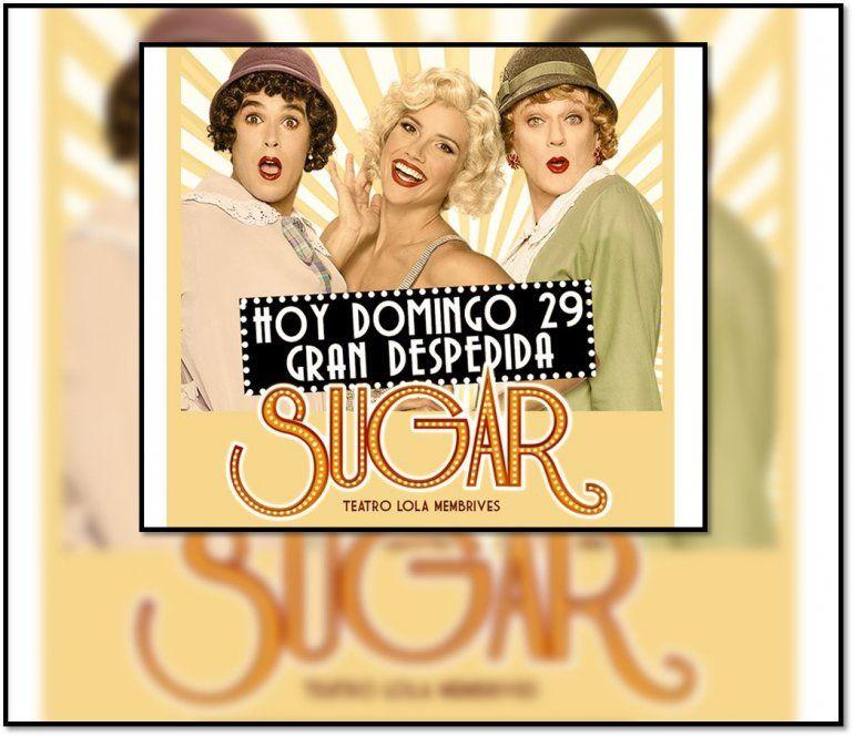 Sugar cerró su exitosa temporada liderando la taquilla teatral porteña