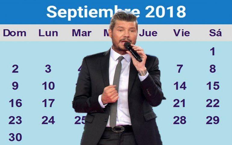 ¿Tinelli vuelve a la tele en septiembre?