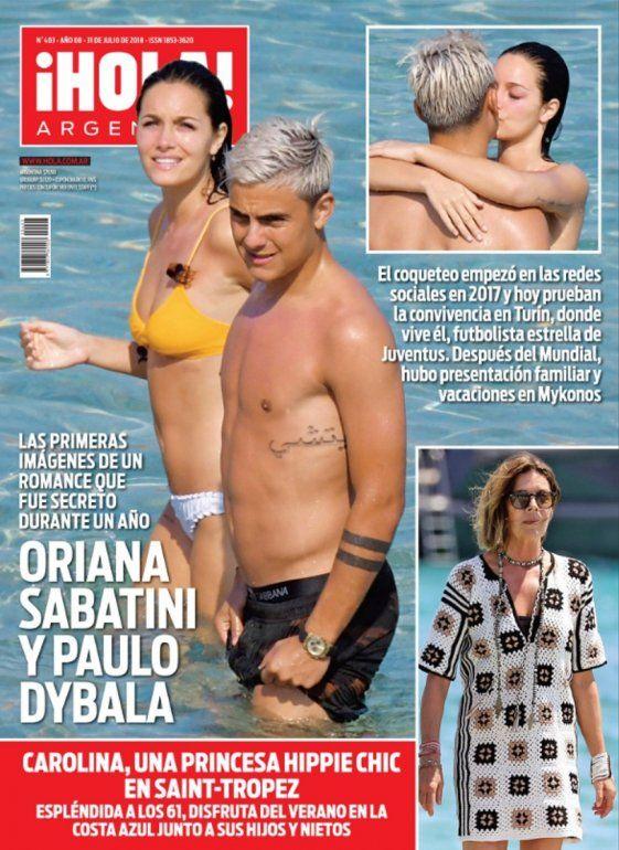 La primera y fogosa luna de miel de Oriana Sabatini y Paulo Dybala