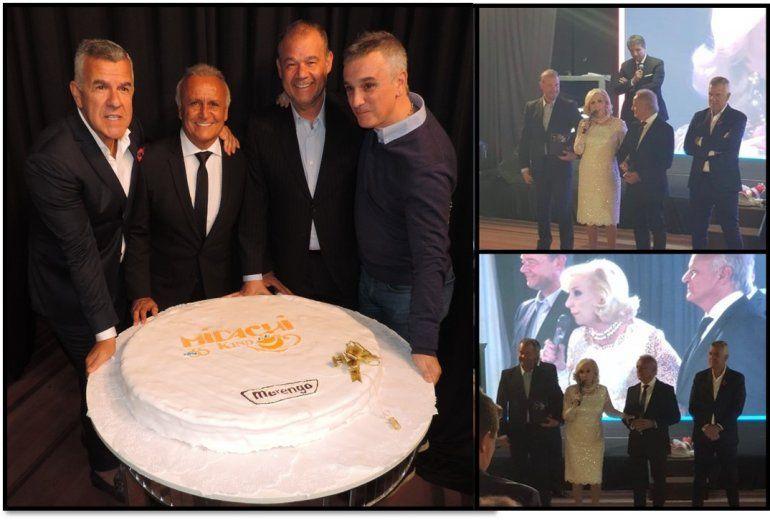 Los Midachi festejaron sus 35 años, con Mirtha Legrand como invitada de lujo