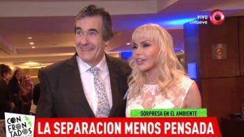Adriana Aguirre y Ricardo García se separaron y parece que va en serio