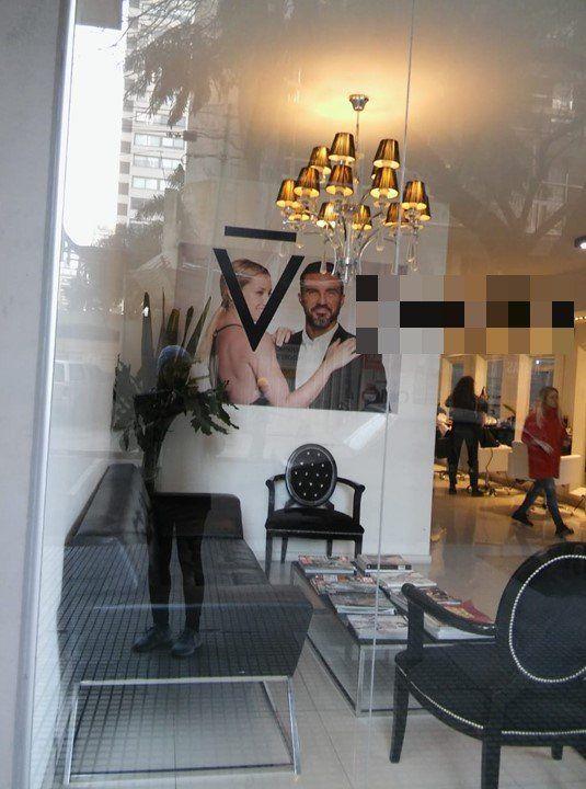 Cubero y Viciconte son la cara de una peluquería de Cañitas: después del circo, siguen facturando juntos