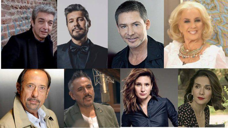 Adrián Suar y su lista de famosos: Darín, Mirtha, Susana, Oreiro, Francella, Lerner y Bertuccelli los invitados de su show