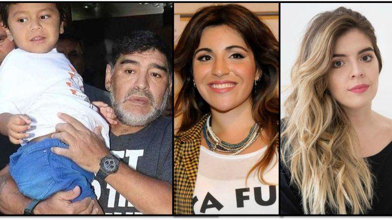 Los Maradona en estado de alerta: Diego postergó su partida y se queda finalmente hasta mediados de agosto