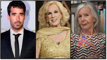 Nacho Viale defendió a su abuela de los dichos de Sarlo: Se cree la jueza del país