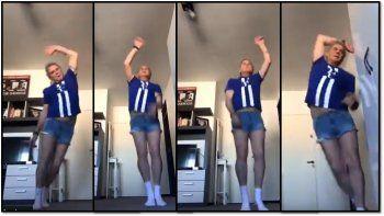 Beto Casella se clavó unos minishorts y bailó desenfrenado: ¿Va al Bailando?