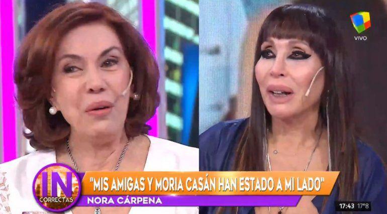 La emoción de Nora Cárpena al volver a trabajar luego de quedar viuda