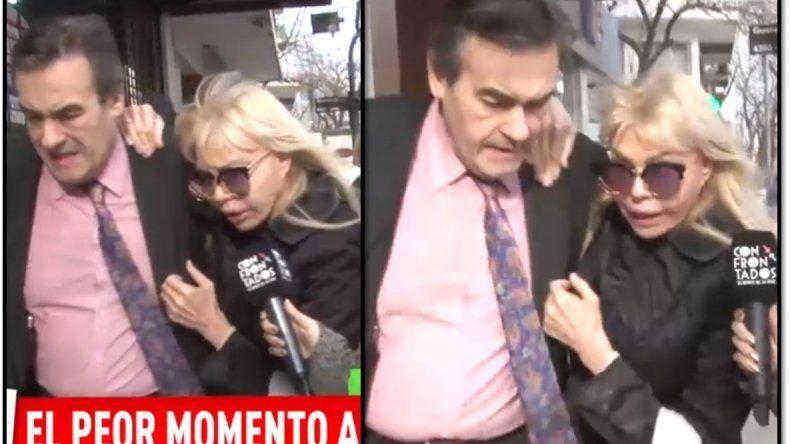 Adriana Aguirre en su peor momento