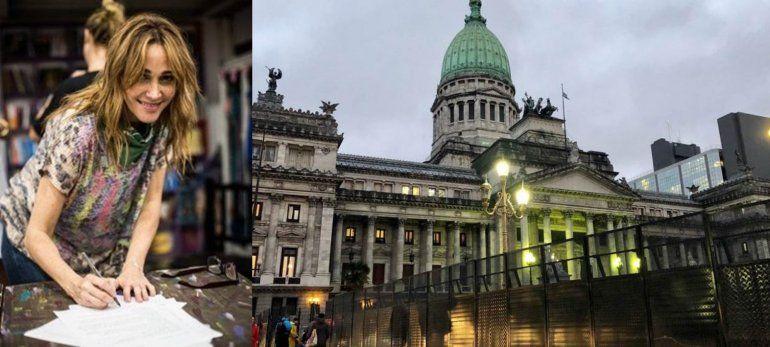 Vero Lozano llamó viejos chotos a los senadores que se oponen a despenalizar el aborto