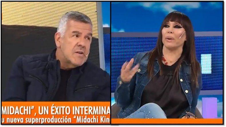 Moria le preguntó en vivo a Dady Brieva si será el nuevo conductor de Intrusos: ¿Qué le contestó?