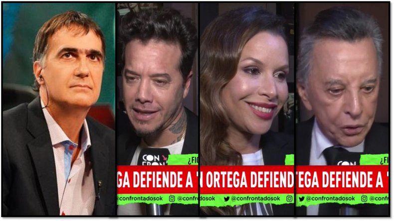 Laje dijo que El Marginal 2 es una apología del delito y el clan Ortega le responde furioso