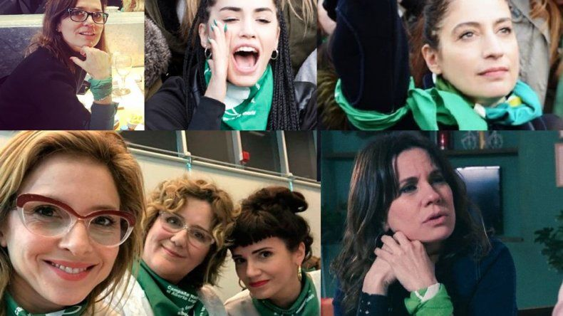 Después del NO de los senadores a la legalización del aborto, muchas famosas hicieron escuchar su queja en las redes