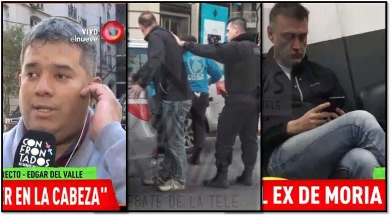 Los protagonistas del episodio policial con Xavier Ferrer Vázquez relataron el hecho