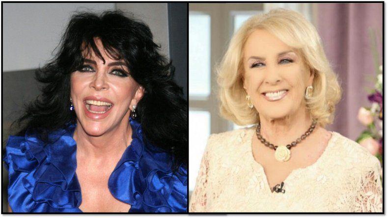 Verónica Castro contó cómo fue el blooper en el cual llamó Martha a Mirtha Legrand