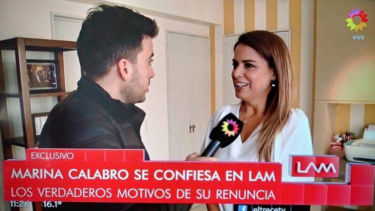 Marina Calabró habló de su salida de Intrusos: Es un ciclo cumplido para mí