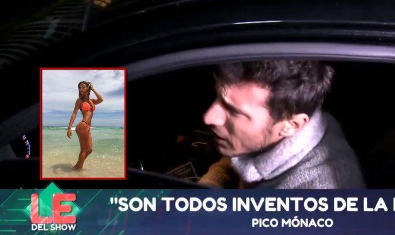 Pico Mónaco furioso cuando le consultaron por la joven con la que se lo vinculó: No entro en ese juego