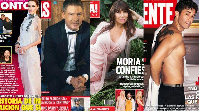 Tapas de la semana: el drama de la protagonista de Todo por mi hija; Suar, Moria y Mariano Martínez