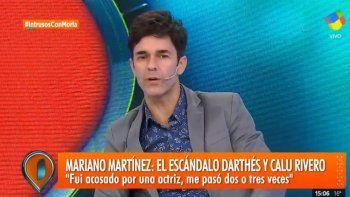 mariano martinez acosado:  me beso y como la rechace despues me golpeo