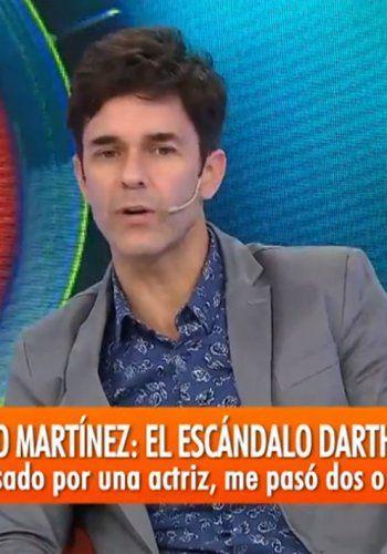 Mariano Martínez acosado:  Me besó y como la rechacé después me golpeó