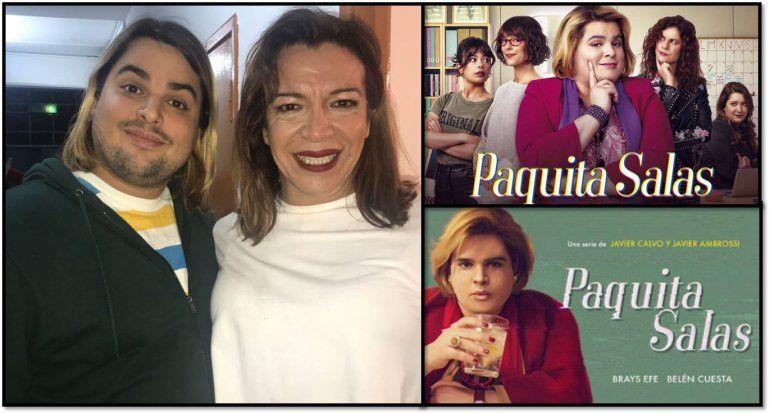 Paquita Salas fue a ver a Lizy Tagliani y se declaró fan de la humorista