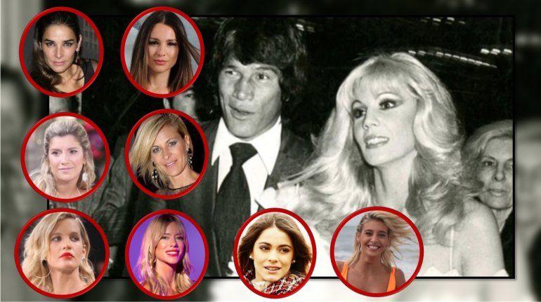 La lista de las candidatas a interpretar a Susana Giménez en la serie de Monzón