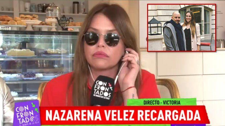 Nazarena Vélez: La reconciliación de Barbie con Muscari no me incluye