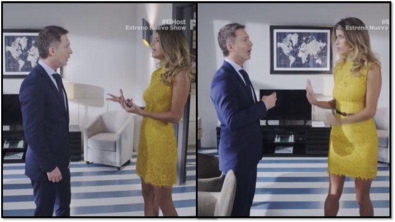 ¿Qué pasa entre Adrián Suar y María Bopp, su coprotagonista de El host?