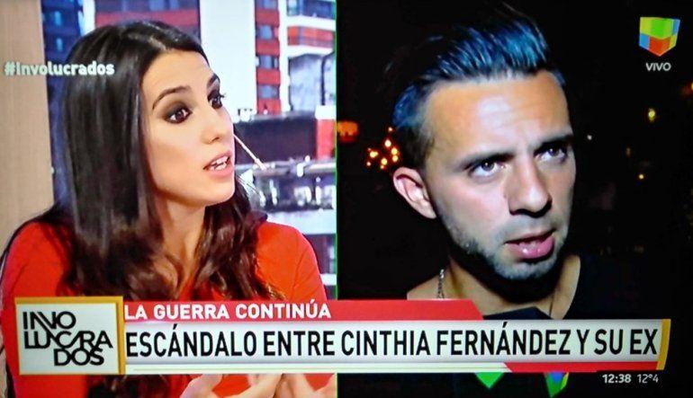 Quebrada ante la situación, Cinthia Fernández le respondió a Defederico: Esto comenzó porque él quiere presentarle su novia a las nenas