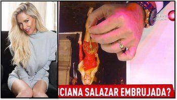 Hacen una prueba en vivo para saber si Luciana Salazar está embrujada