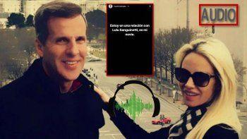 Redrado blanqueó novia y Luciana lo escracha viralizando un audio: Martín