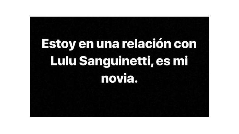 Redrado blanqueó novia y Luciana lo escracha viralizando un audio: Martín, ¿qué es esto?, ¿brujería?