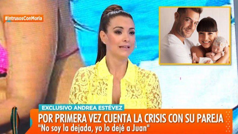 Andrea Estévez reveló la verdad de su escandaloso divorcio