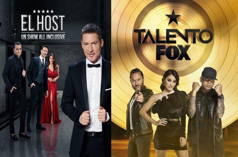 Excelentes números de rating para Adrián Suar y Talento Fox en toda América