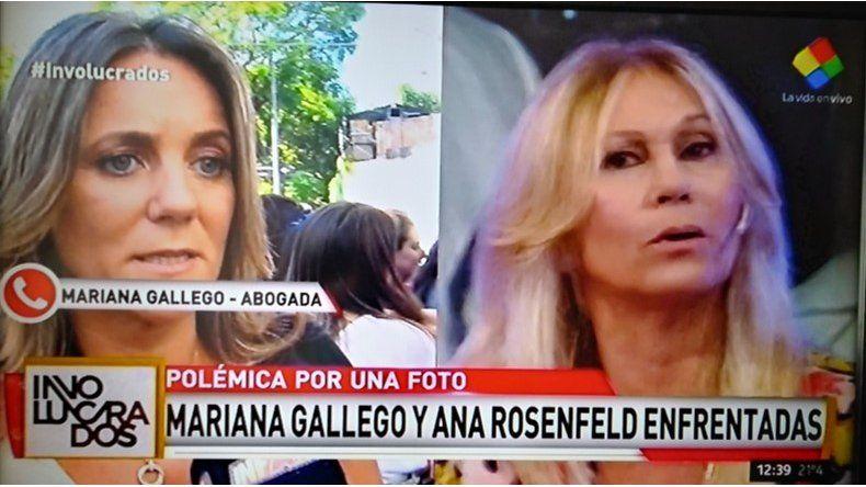 Mariana Gallego mató a Ana Rosenfeld: Me llamaron de Noticias y me dijeron que ella me quiso bajar
