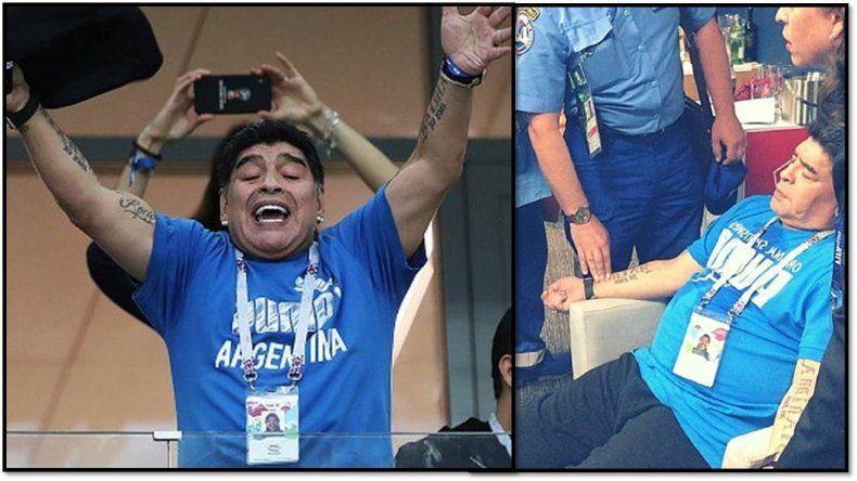 Maradona y su equipo de abogados identificaron a la persona que difundió el audio sobre su muerte: ¿Quién fue?