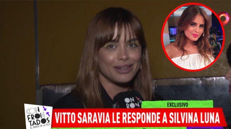 Vitto Saravia, acusada por Silvina Luna de sacarle un ex novio; dice que ella le hizo lo mismo a...