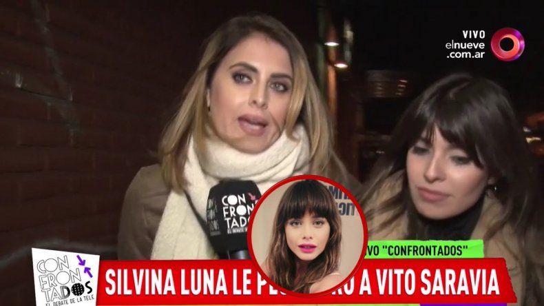 Silvina Luna le responde a Vitto Saravia: Que agradezca que está dando notas